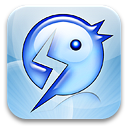 Chat App Logo, 123 Flash Chat